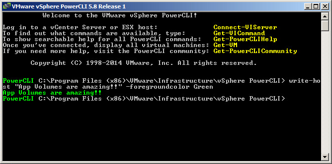 PowerCLI_Running