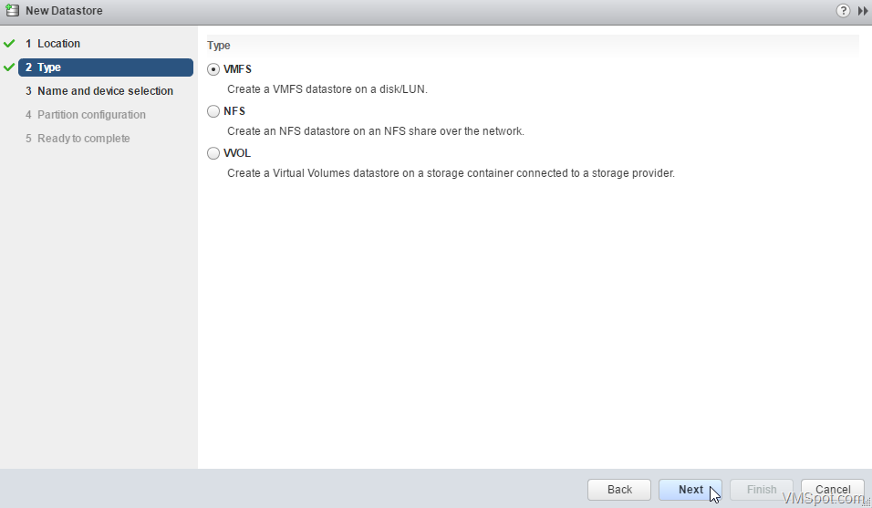 Configuring iSCSI for Synology NAS and VMware vSphere